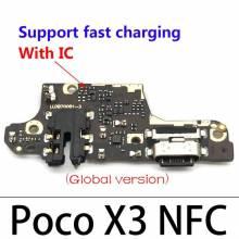 Repuesto placa USB cargador de enchufe para movil chino Xiaomi POCO X3