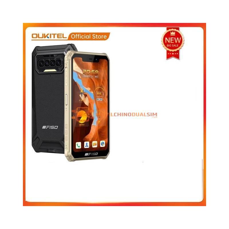Movil chino Oukitel F150 B2021 IP68/69K, 6GB + 64GB, 8000mAh, ocho núcleos, NFC, 5,86 '', HD + MediaTek, Helio G25