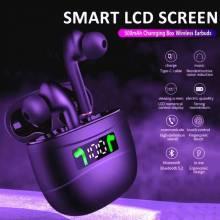 Auriculares chinos TWS Bluetooth 5,0 impermeables IPX7 con pantalla LED HD estéreo y micrófono incorporado para Xiaomi y iPhone