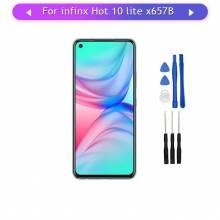 Pantalla LCD + pantalla táctil de reemplazo para movil chino Infinix Hot 10 Lite X657B