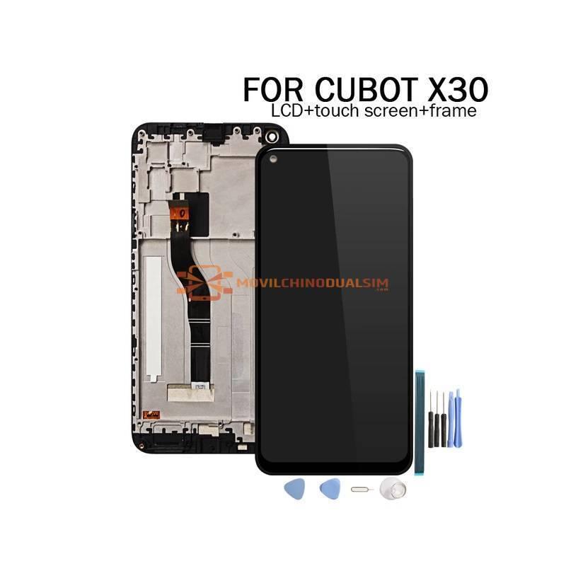 Pantalla LCD + pantalla táctil de reemplazo para movil chino CUBOT X30