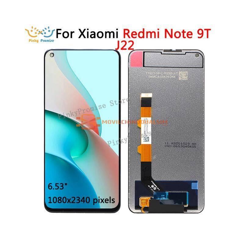 Pantalla LCD + pantalla táctil de reemplazo para movil chino Xiaomi redmi note 9T J22