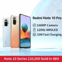 Movil chino Xiaomi Redmi Note 10 Pro 108MP cámara Snapdragon 732G 120Hz AMOLED