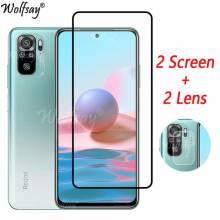 2 Unidades de protector de pantalla vidrio templado de alta calidad para movil chino Xiaomi Redmi Note 10