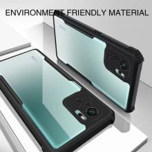 Funda de proteccion cubierta transparente de cristal para movil chino Xiaomi Redmi Note 10 o Xiaomi Redmi Note 10 Pro