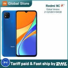"""Movil chino Xiaomi Redmi 9C con 2GB 32GB/ 3GB 64GB MediaTek Helio G35 6,53"""" bateria 5000mAh"""