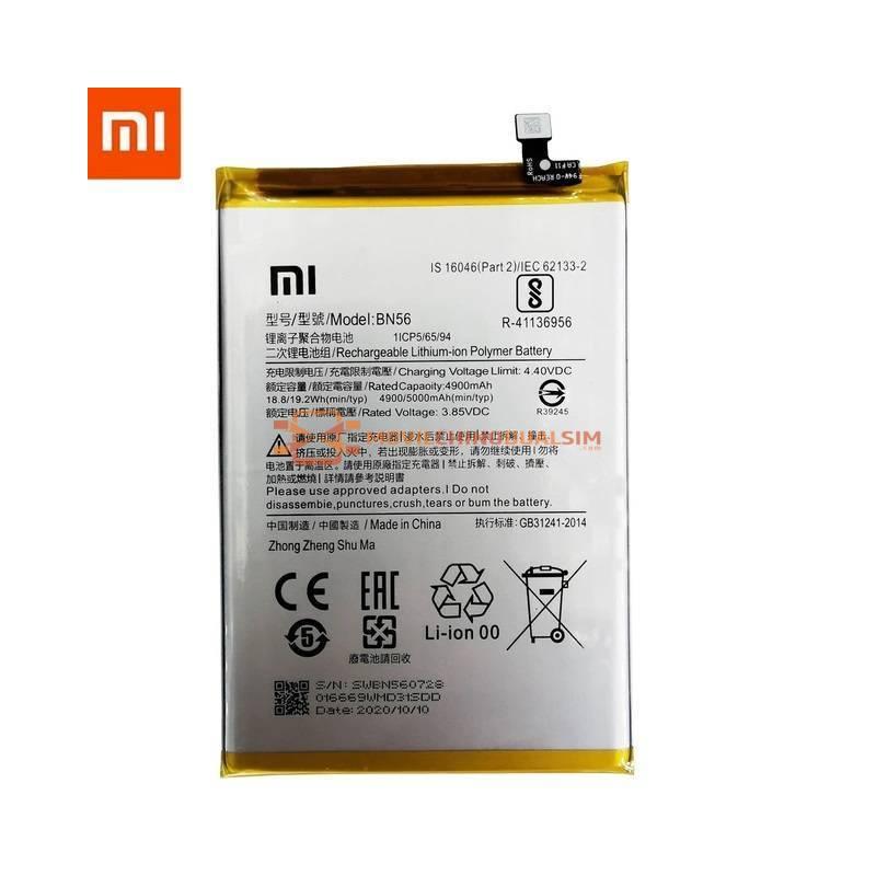 Bateria original de 5000 mAh para movil chino Xiaomi Redmi 9C