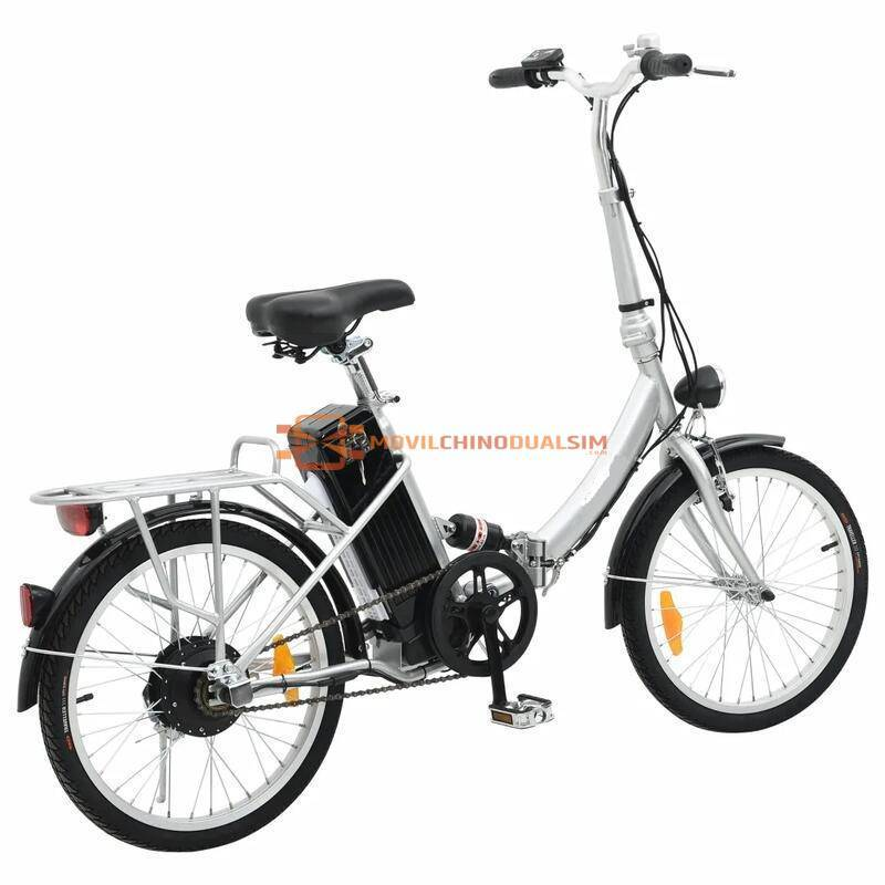 Preciosa Bicicleta eléctrica plegable de batería de litio de aleación de aluminio