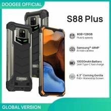 Movil chino DOOGEE S88 Plus resistente con cámara 48MP 8GB RAM 128GB ROM IP68/IP69K Android 10 versión Global