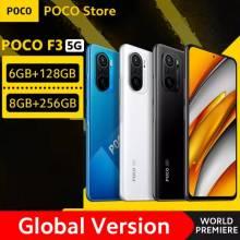 "Movil chino POCO F3 Versión Global 5G Snapdragon 870 ocho núcleos 6GB RAM 128GB/256GB ROM Pantalla 6,67"" 120Hz E4"