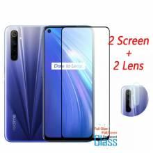 2 Unidades de protector de pantalla vidrio templado de alta calidad para movil chino Realme 7i