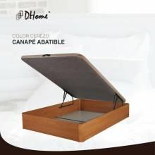Canape 3D plegable 4 válvulas MÁXIMA CALIDAD sofá de madera rinconera