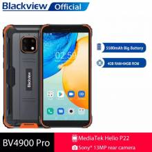 Movil chino Blackview BV4900 Pro resistente al agua IP68, 4GB, 64GB, ocho núcleos, Android 10 bateria 5580mAh, NFC, pantalla 5,7