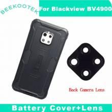 Tapa trasera original de bateria y lente camara para movil chino Blackview Bv4900