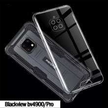Funda de proteccion en silicona para movil chino Blackview Bv4900 o Blackview Bv4900 Pro
