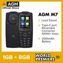Movil chino AGM M7 4G resistente 1GB, 8GB, 2500mAh, resistente al agua carga tipo C