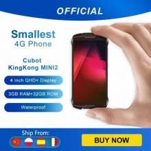 Movil chino pequeño Cubot KingKong MINI 2 resistente a prueba de agua 3000mAh 4G LTE Dual-SIM 3GB + 32GB Android 10,0