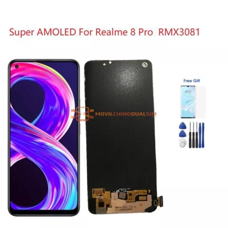 Pantalla LCD + pantalla táctil de reemplazo para movil chino Realme 8 Pro