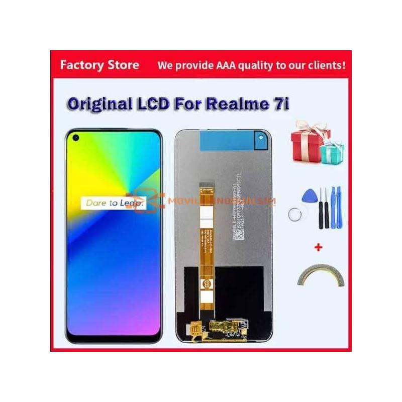 Pantalla LCD + pantalla táctil de reemplazo para movil chino Realme 7i