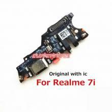 Repuesto placa USB cargador de enchufe para movil chino Realme 7i