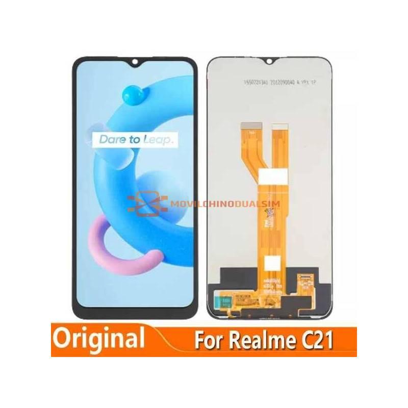 Pantalla LCD + pantalla táctil de reemplazo para movil chino Realme C21