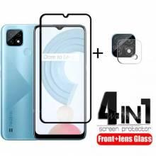 4 en 1 Unidades de protector de pantalla vidrio templado de alta calidad para movil chino Realme C21