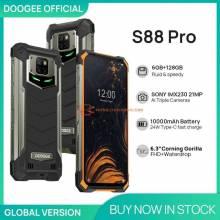 Movil chino DOOGEE S88 Pro IP68 IP69K bateria 10000mAh Helio P70 Octa Core 6GB RAM 128GB ROM