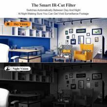 Sistema de video vigilancia Techage CCTV capacidad 1TB Kit de NVR POE de 8 canales grabación de Audio, cámara IP, P2P