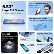Movil chino UMIDIGI A11 versión global, Android 11 64GB, 128GB, pantalla 6,53 pulgadas Triple Cámara, bateria 5150mAh