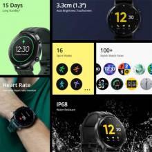 Reloj inteligente chino Realme version global resistente al agua con monitor de oxígeno en sangre y batería de 15 días