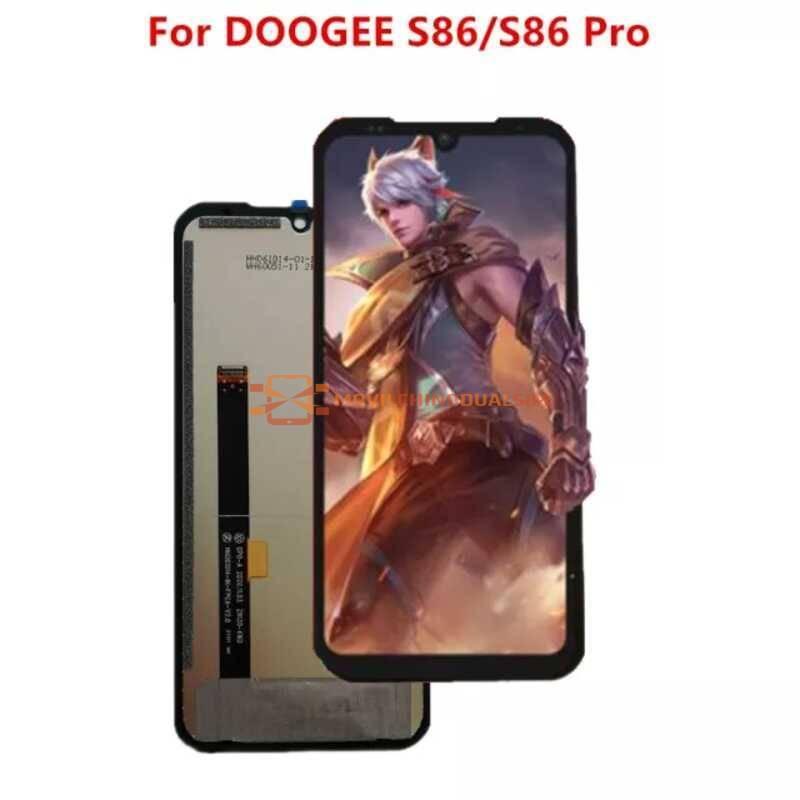 Pantalla LCD + pantalla táctil de reemplazo para movil chino DOOGEE S86/S86 Pro