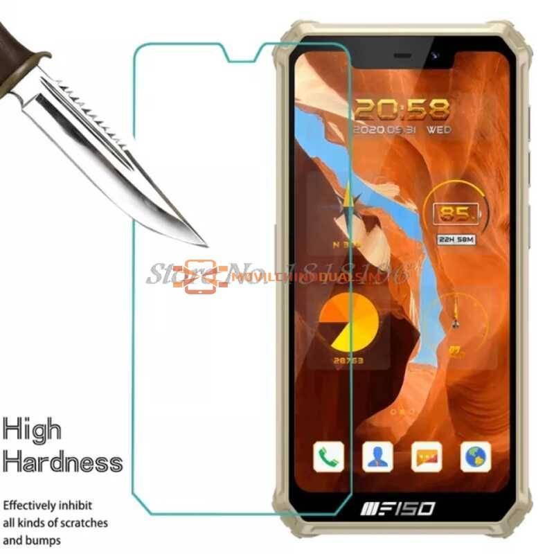 2 Unidades de protector de pantalla vidrio templado de alta calidad para movil chino Oukitel F150 B2021
