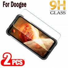 2 Unidades de protector de pantalla vidrio templado de alta calidad para movil chino Doogee S97 Pro