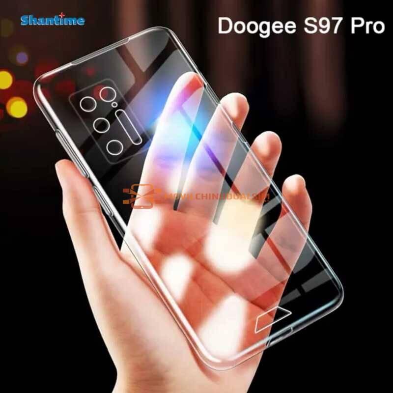 Funda de proteccion en silicona para movil chino Doogee S97 Pro