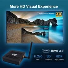 Tv box TOX1 Android 4GB 32GB tóxicos 1 Amlogic S905X3 Wifi 1000M 4K Media Player soporte Dolby
