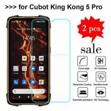 3 en 1 unidades de protector de pantalla vidrio templado de alta calidad para movil chino Cubot KingKong 5 Pro
