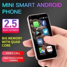 Movil chino pequeño Mini SOYES XS11 con 1GB de RAM 8GB ROM 2,5 pulgadas MT6580A Quad Core Android 6,0 de 1000mAh 2.0MP