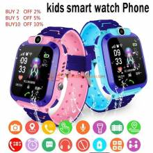 Reloj inteligente de emergencia perdida para niños con tarjeta Sim impermeable IP67