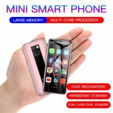 Movil chino pequeño Android 9,0 barato, 4G, Quad core, identificación facial, 3GB RAM, 32GB ROM, cámara única de 3,49 pulgadas