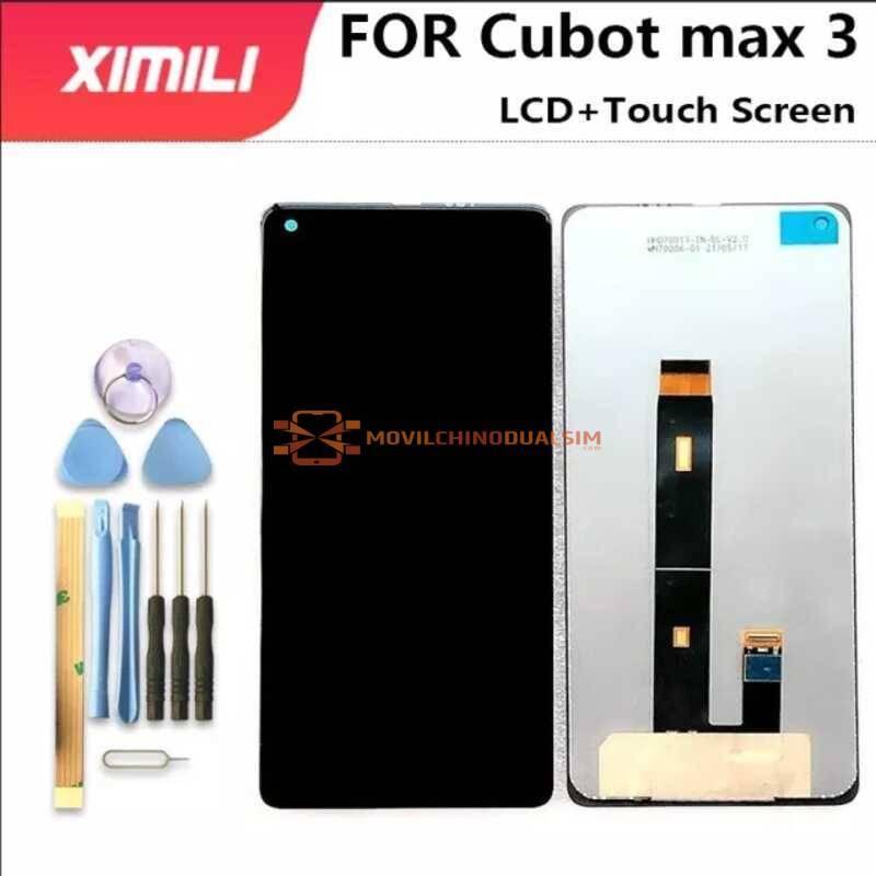 Pantalla LCD + pantalla táctil de reemplazo para movil chino Cubot Max 3