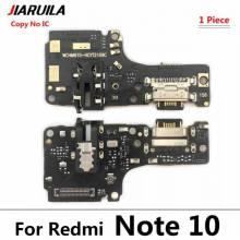 Repuesto placa USB cargador de enchufe para movil chino Xiaomi Redmi Note 10