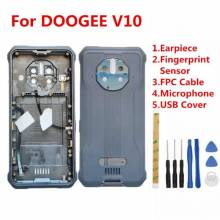 Tapa trasera original de bateria para movil chino DOOGEE V10