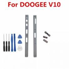 Repuesto carcasa lateral de metal para teléfono movil DOOGEE V10