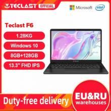 "Portatil chino TECLAST F6, 13.3"" FHD IPS, 16:9, Intel Celeron N3350, 8GB RAM, 128GB SSD, HD, Windows 10, WiFi dual,4K/60fps"