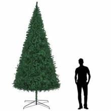 Árbol de Navidad artificial ramas en PVC de altura 400 cm verde
