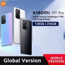 Movil chino Xiaomi 11T Pro versión global, 128/256GB, Snapdragon 888, ocho núcleos, 120W, cámara de 108MP, 120Hz